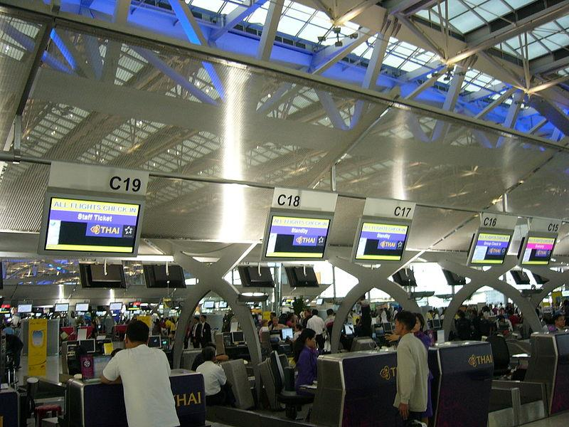 Sân bay quốc tế Suvarnabhumi - Thái Lan