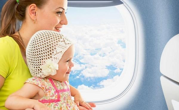 Những thủ tục cần thiết khi cho trẻ đi máy bay