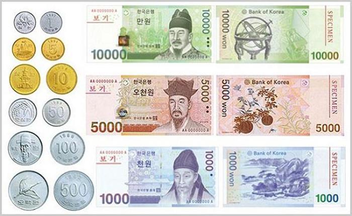 Những lưu ý khi đổi tiền Việt sang tiền Hàn